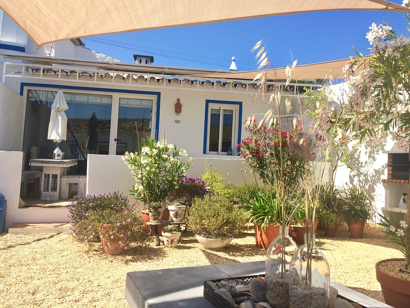 Summer Village and courtyard