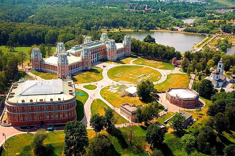 architectural and historical complex TSARITSYNO