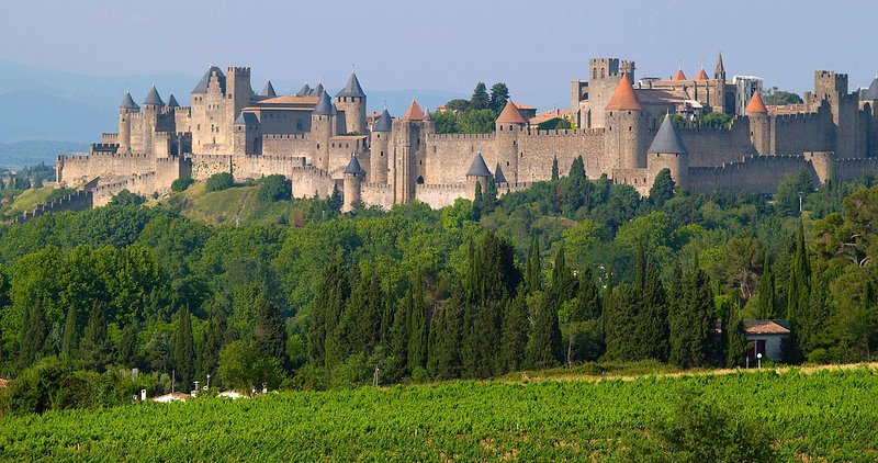 quote from Carcassonne day was 15 km from the cottage
