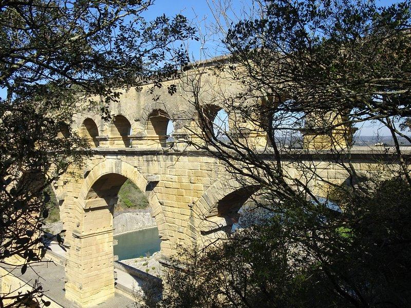 Il Pont du Gard non è lontano