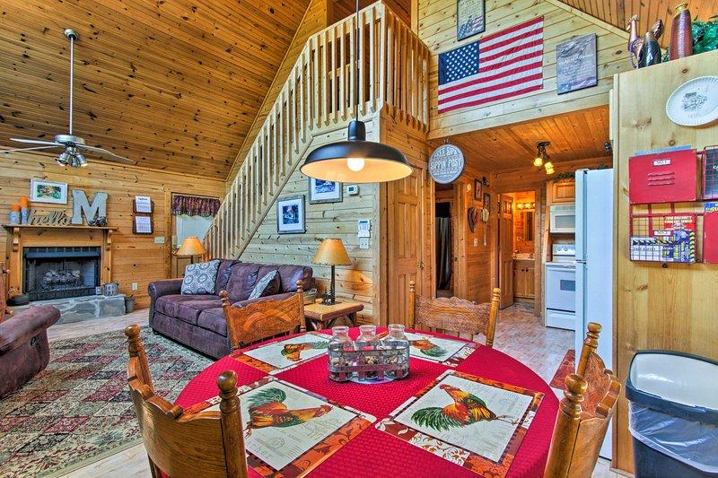 Apaixone-se pelo 'The Moonshine', um aluguer de férias em Sevierville!