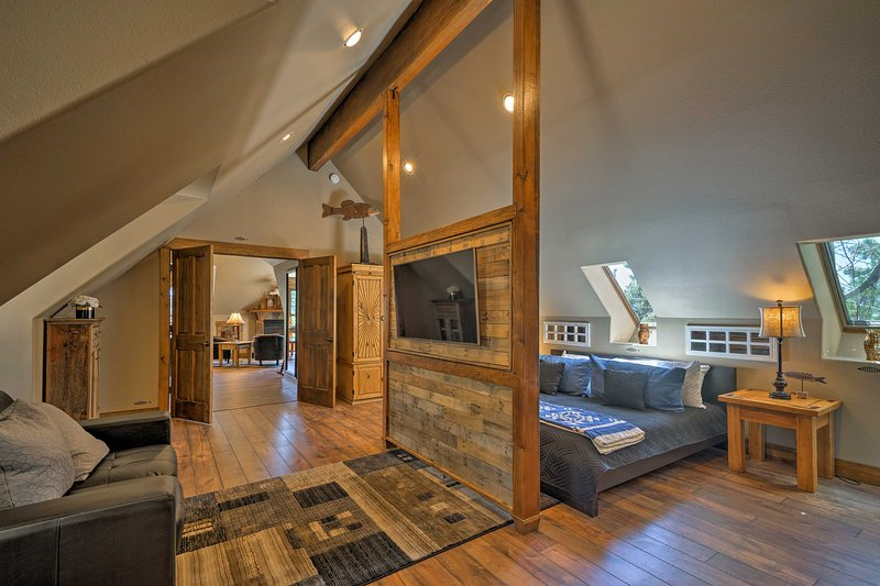 Explore South Central Colorado from this modern Monument apartment!