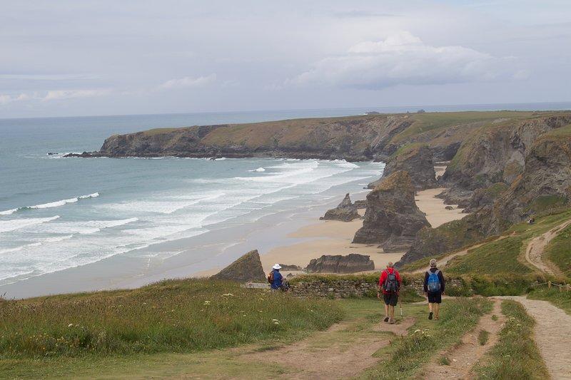 Cornish coast, bedrutham steps
