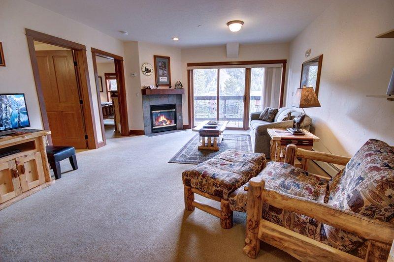 One bedroom condo at Oro Grande in Keystone Colorado.