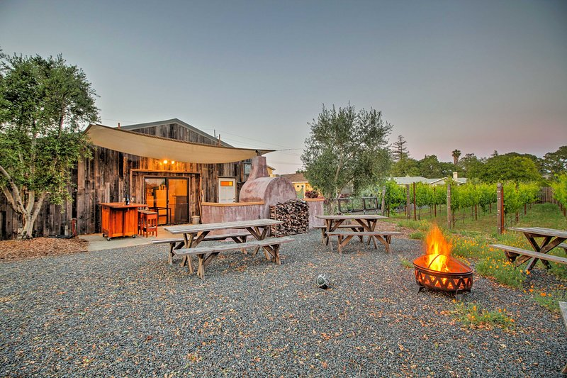 Ein kalifornischer Winzer Anwesen sind bereit, Sie in Sonoma zu bewirten!