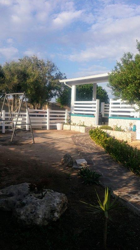 Entry and Garden