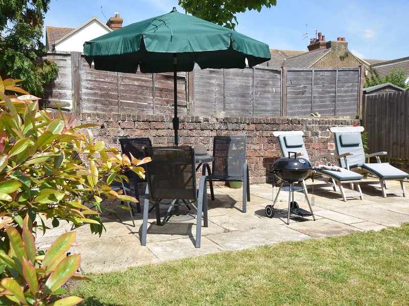 Enjoy the spacious enclosed back garden
