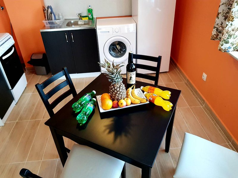 The Perfect Studio Apartment for 2 in Sofia Studentski Grad Fully Equipped, holiday rental in German