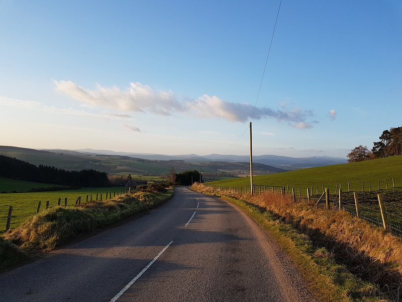View next to Bankhead over Royal Deeside