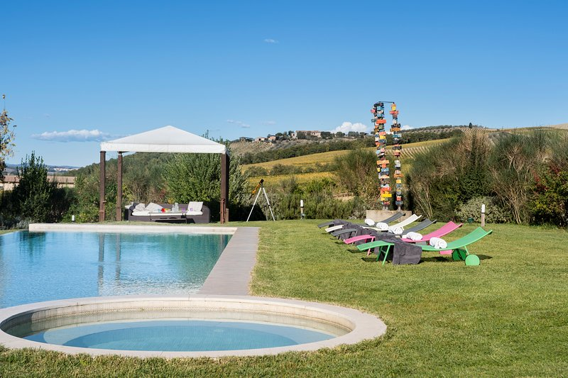 Villa Giardinello, your dream villa in Tuscany, holiday rental in San Giovanni d'Asso