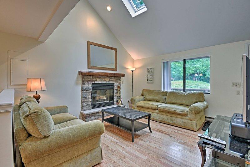 Book your Pocono Lake getaway to this 4-bed, 2-bath vacation rental home!