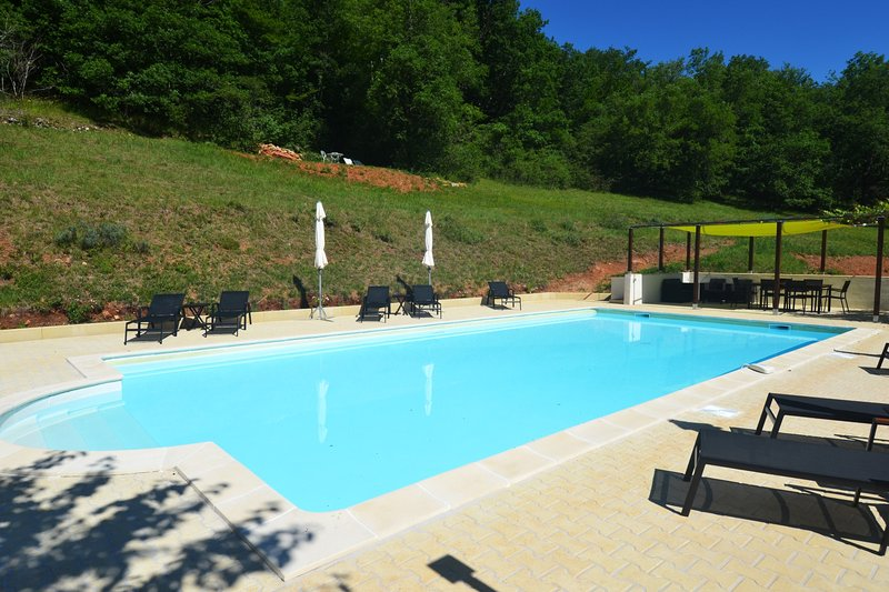 Le Manoir - Gîte Manseng 2p - swimming pool, vacation rental in Lanzac