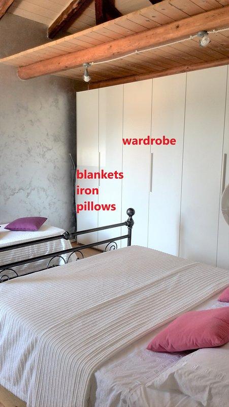 the wardrobe closet