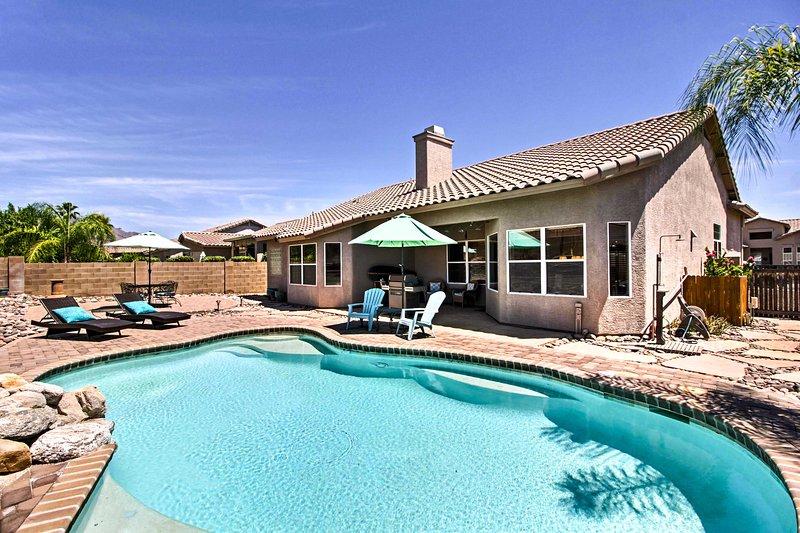 Conocer bien Tucson 3-cama, casa de alquiler vacacional de 2 baño!