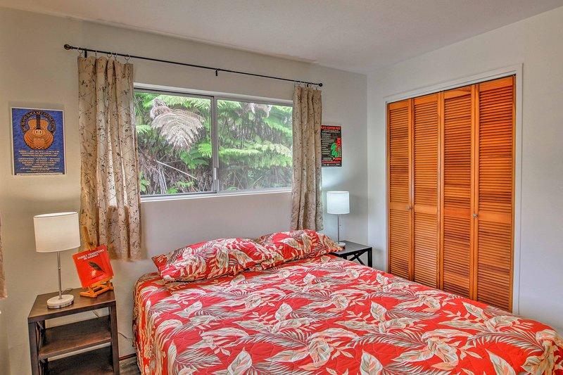 Las habitaciones también disponen de armarios para todas sus pertenencias.