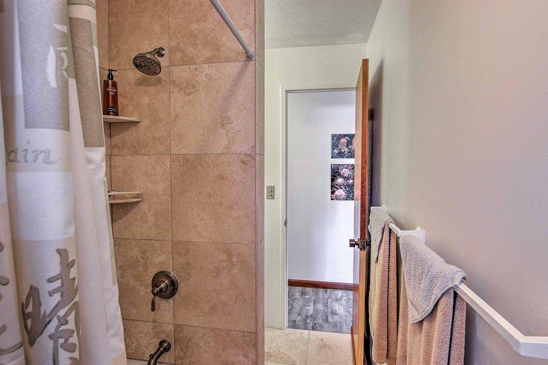 El agua de las duchas es en realidad el agua de lluvia!