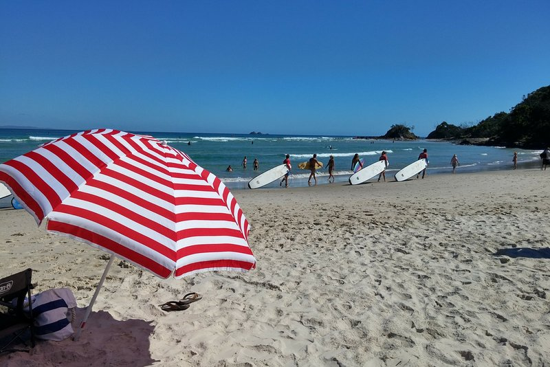 Byron's beautiful beaches are just a few minutes away.