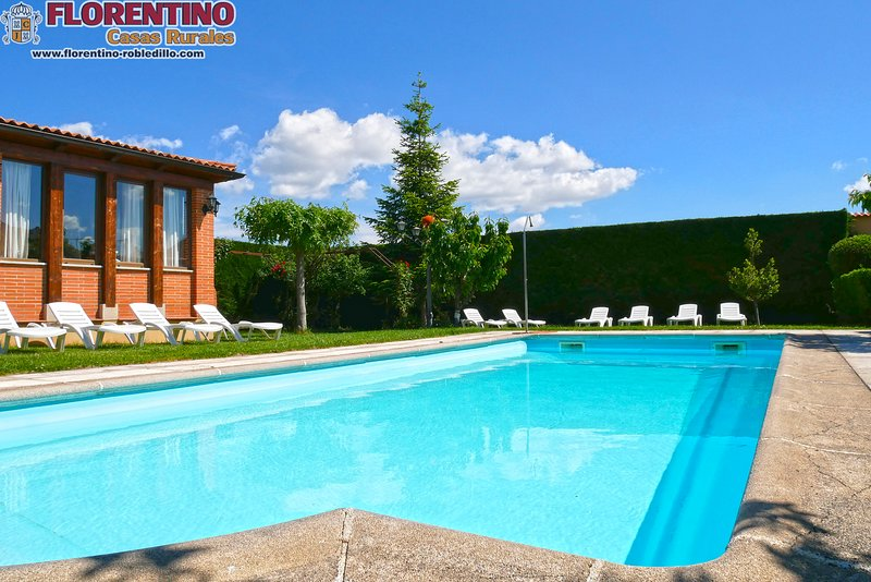Finca with private pool for customers Florentino Cottages