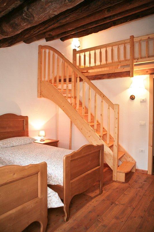 Triple room with mezzanine