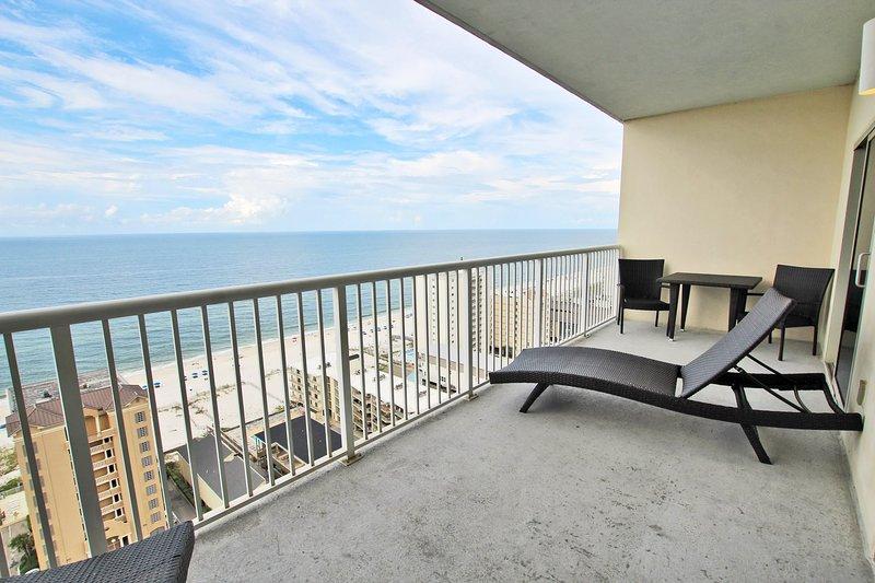 19th Floor Gulf View Balcony
