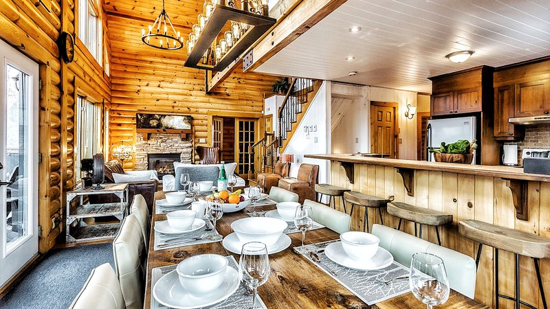 Le Mont-Tremblant par Résidences Boutique chalet à 5 minutes de Tremblant Nord, vacation rental in Val-des-Lacs