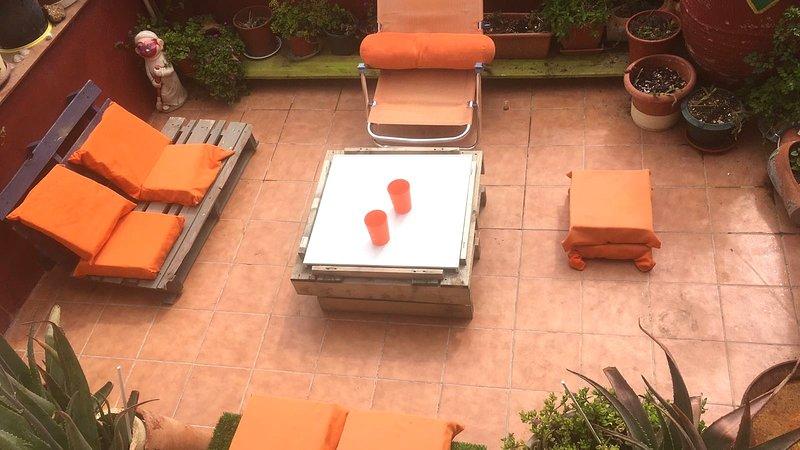 Nice apt with terrace & Wifi, location de vacances à Tarazona