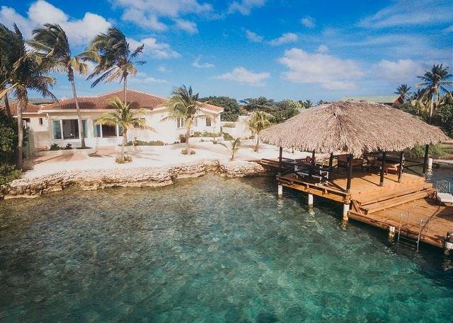 Frente al mar de vacaciones en Aruba!
