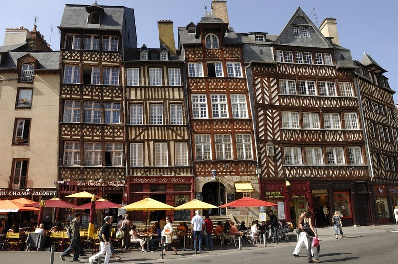 Rennes and its old streets