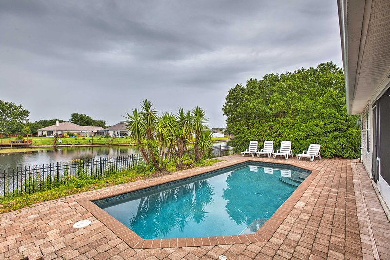 Book your rejuvenating Florida retreat at this waterfront vacation rental!