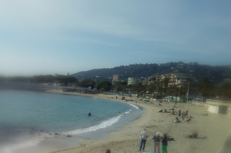 Beach at walking distance , Cannes and Antibes near . Two bedrooms, garden,, holiday rental in Golfe-Juan Vallauris