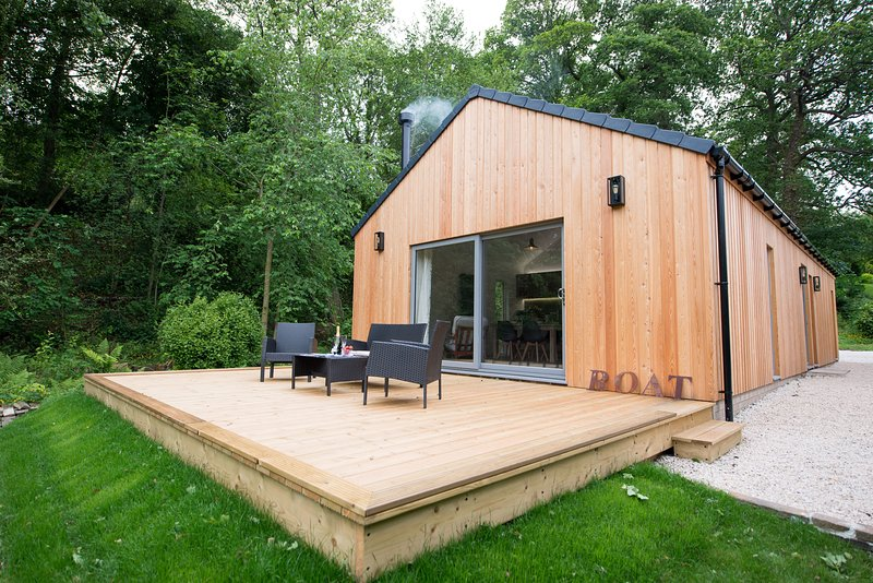 The Boathouse at Riding Mill, holiday rental in Ovingham