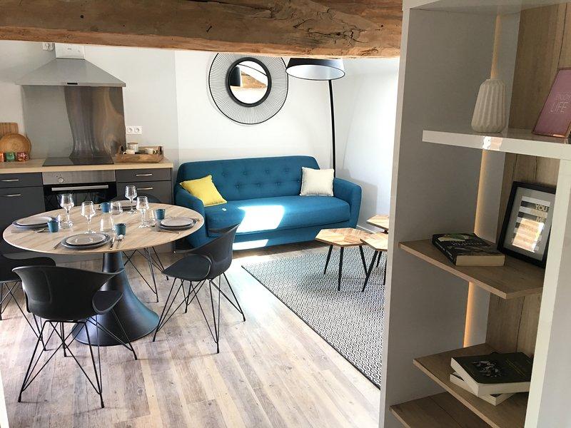 Appartement n°4, meublé et climatisé, centre ville GOLFECH, holiday rental in Auvillar