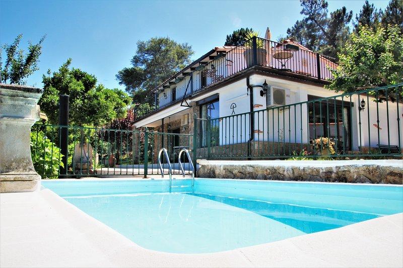 El Mirador de Acebo 4****, 220m² casa entera 4/10 personas, piscina, 5 habts., casa vacanza a Torre de Don Miguel