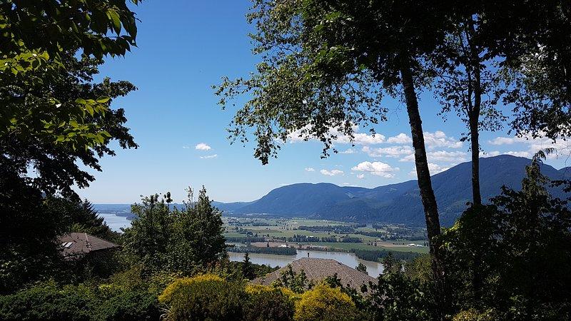 Orientación oeste vistas al valle de Fraser