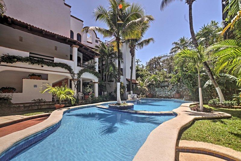 Escape to Playa Del Carmen at this 2-bedroom, 2-bath condo!