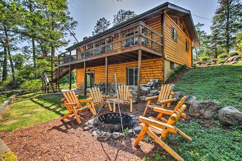 Descontrair e relaxar neste encantador cabine de aluguer de férias Lake Shore!
