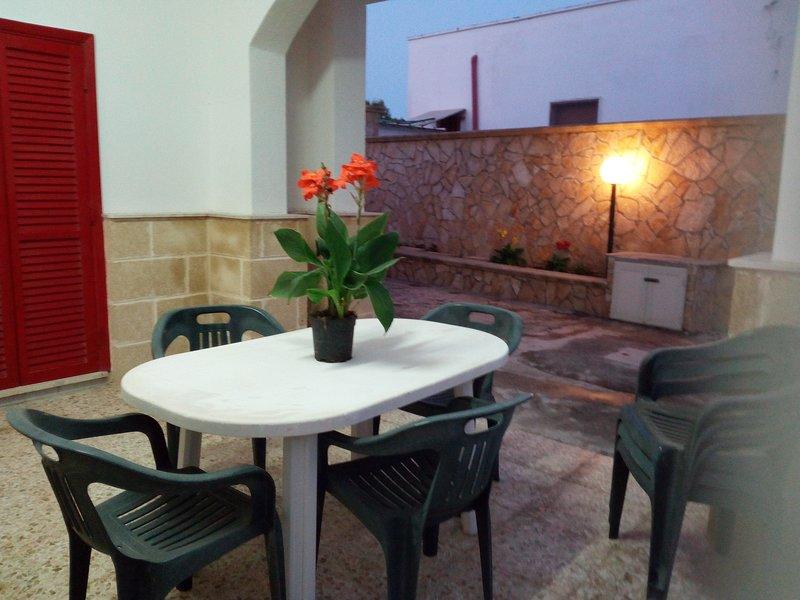 Veranda ground floor