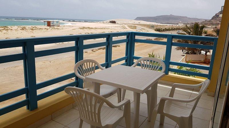 Vila Cabral 2  4-5 Personen Appartment am Strand Boa Vista  No Stress-Relax, alquiler de vacaciones en Sal Rei