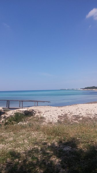 beach 300 meters from the house