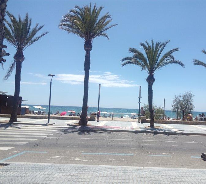 Poniente beach 200mts