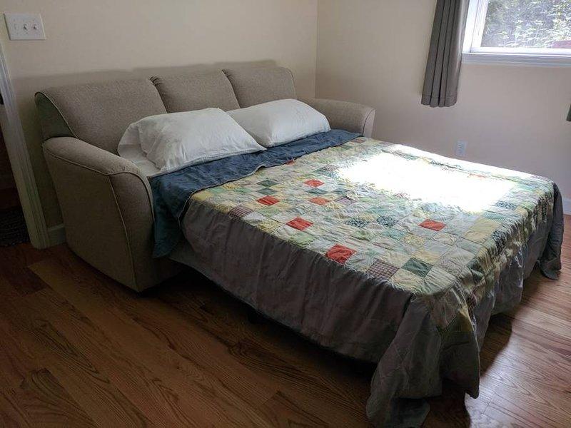 Cozy memory foam sofa bed (queen)