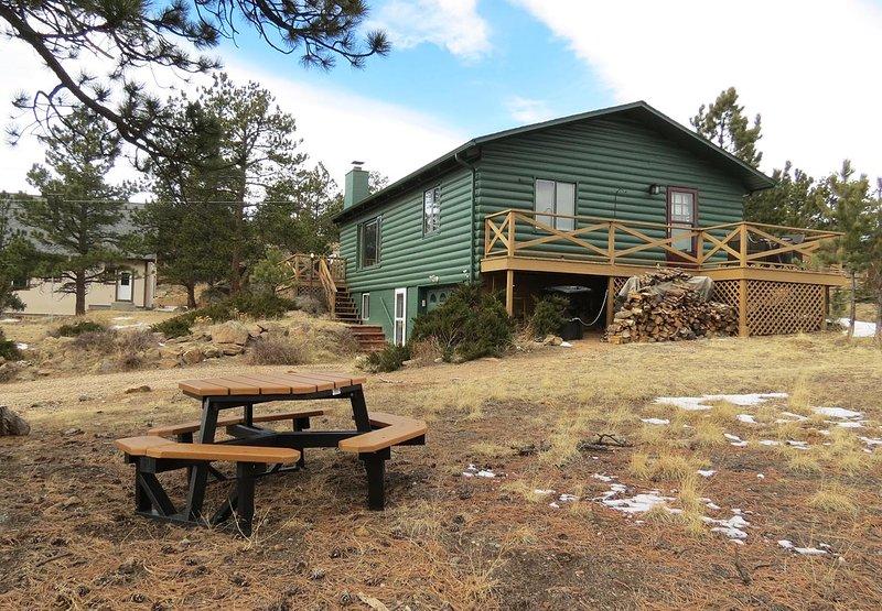 Tatanka Cabin -- EV #3097, vacation rental in Estes Park
