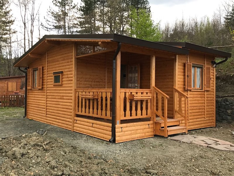 WOODEN CHALET about 35 sqm with veranda