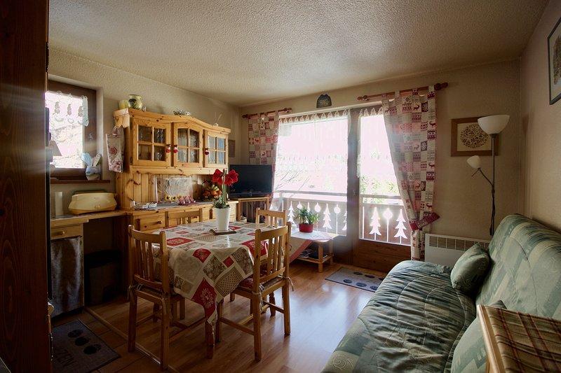 Appartement à Praz Sur Arly 2 à 4 personnes, location de vacances à Praz Sur Arly
