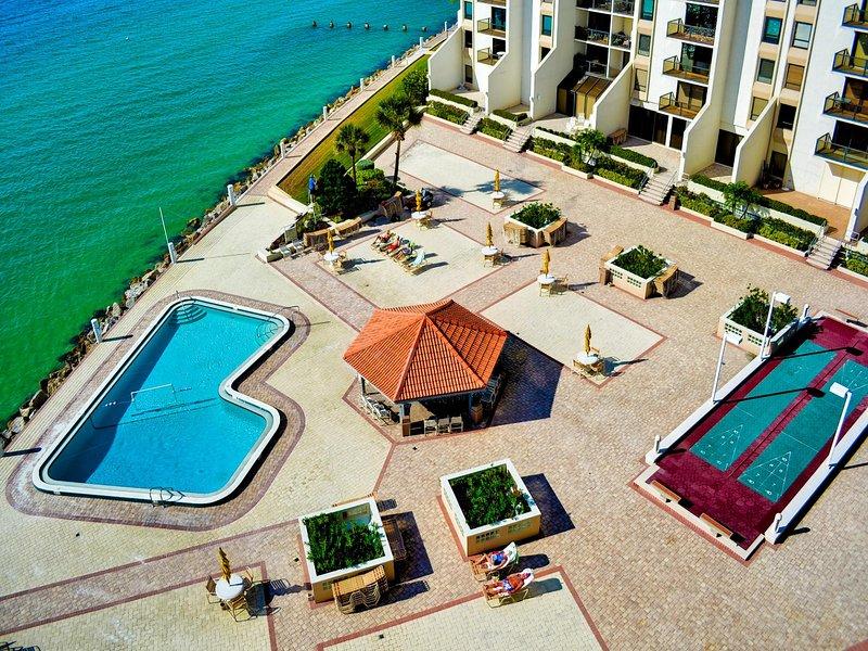 Vista de la zona 440 de la piscina.
