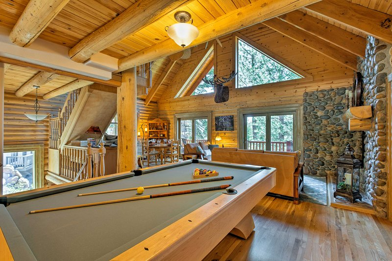 Perfect for entertaining, the great room serves as your private mountain manor.