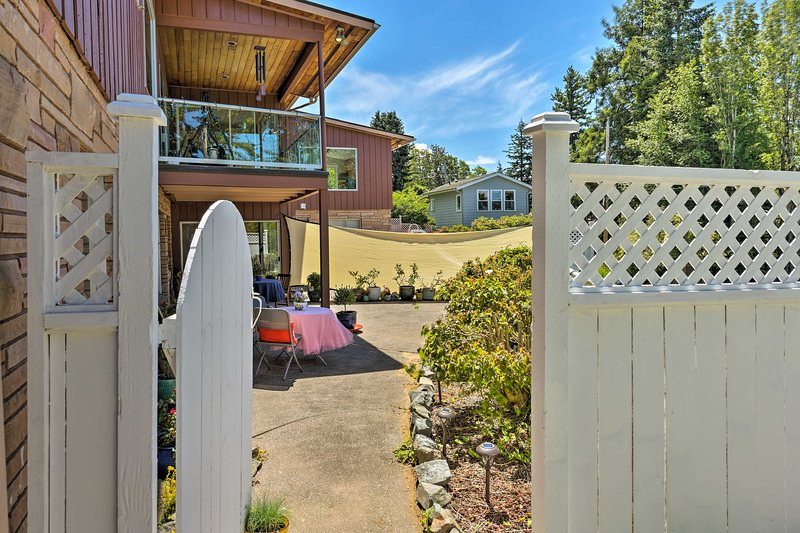 Step through the white picket fence and begin your adventure.