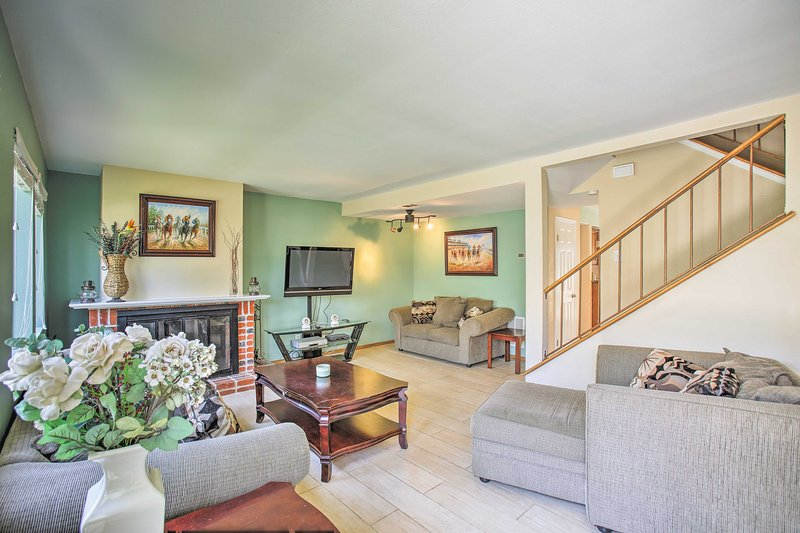 Explore the beauty of Solana Beach from this lovely vacation rental condo.