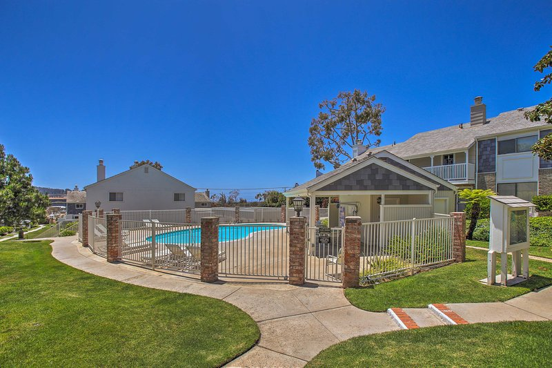 You'll have full access to the community pool and chaise lounge chairs.