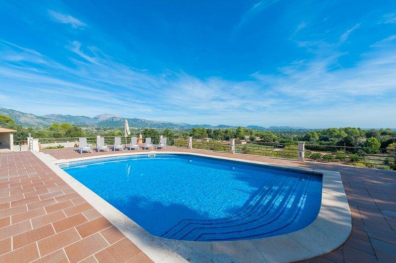SOLIVAR (CORRITX 2) - Villa for 6 people in Selva, vacation rental in Selva